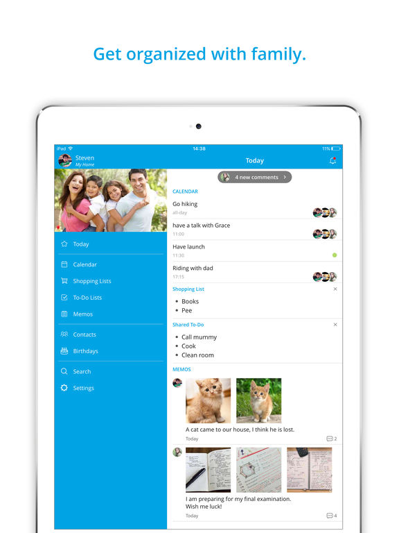 Family Calendar Sharing : Family organizer shared calendar app by famcal on the