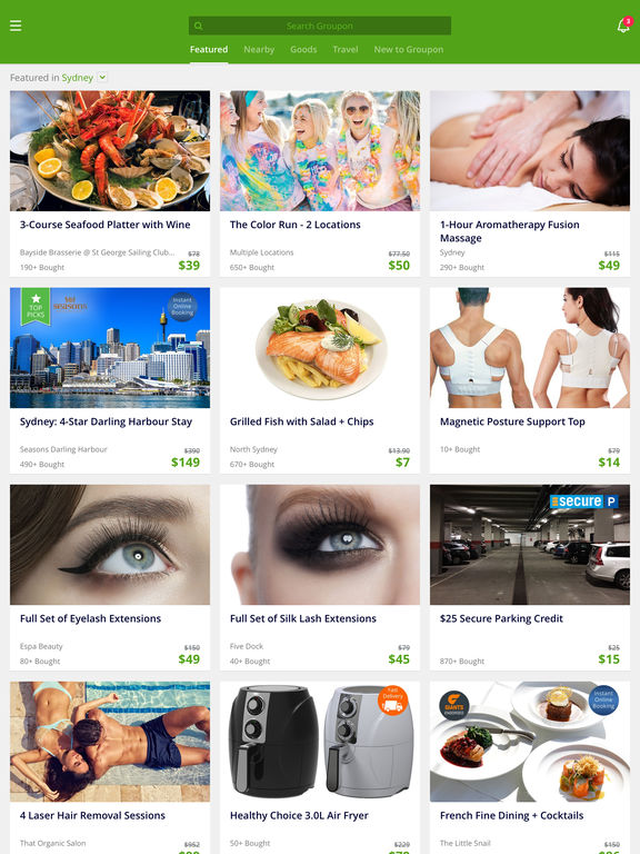Groupon Deal Coupon Amp Discount Shopping App On The App