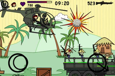 скачать бесплатно игру Doodle Army - фото 2