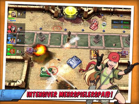 Tank Battles - Bombenstimmung! iOS Screenshots