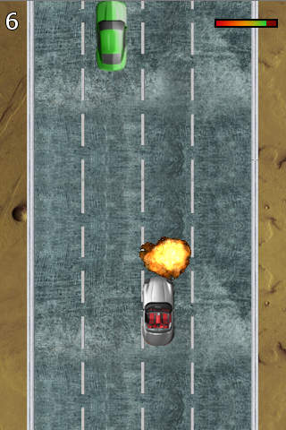 Wheels On Fire Screenshot