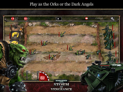 Warhammer 40,000: Storm of Vengeance Line Defense