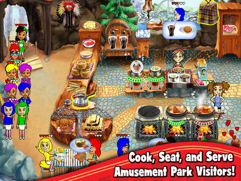 Screenshot 1 Cooking Dash: Thrills and Spills