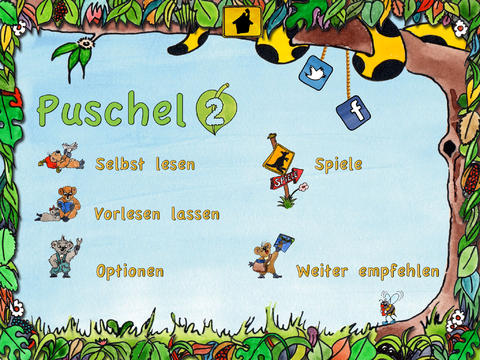 Puschel 2 - Abenteuer im Eukalyptuswald iOS Screenshots