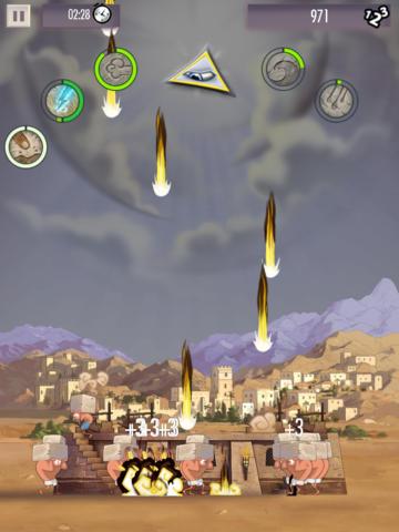 Babel Rising: Cataclysm iOS Screenshots
