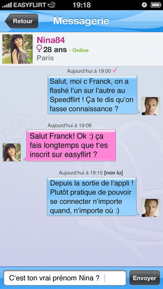 Application pour rencontre iphone