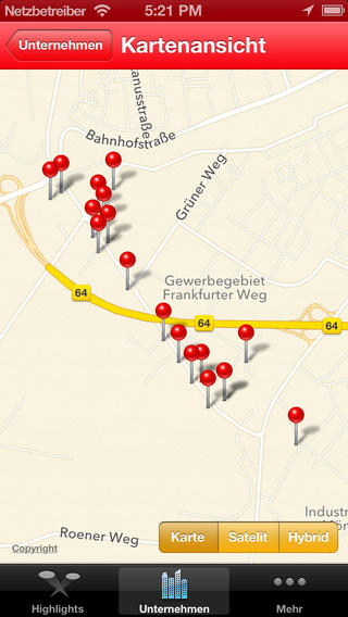 Wirtschaftsmeile Frankfurter Weg