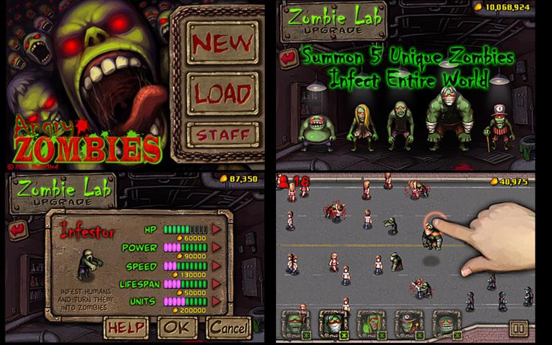 Angry Zombies Screenshot
