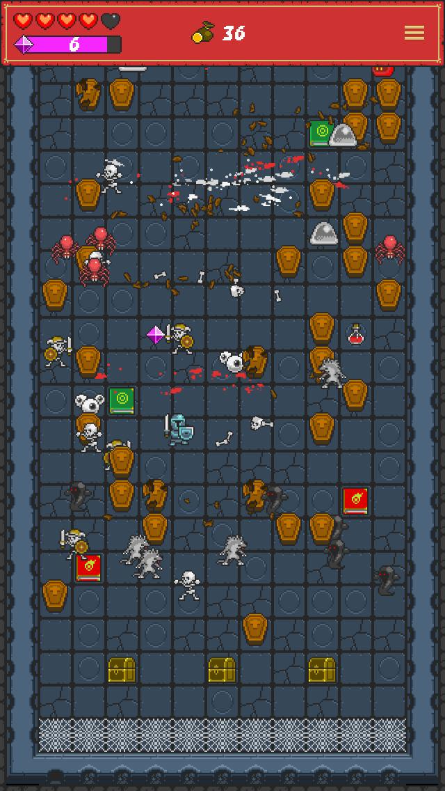 Screenshot 2 One Tap RPG - Pachinko-like Dungeon Crawler