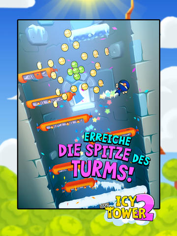 Icy Tower 2 iOS Screenshots