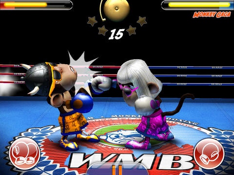 Monkey Boxing iPhone iPad
