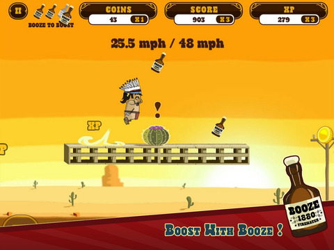Firewater: Cowboy Dash iPhone iPad
