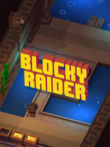 Blocky Raider iOS Screenshots
