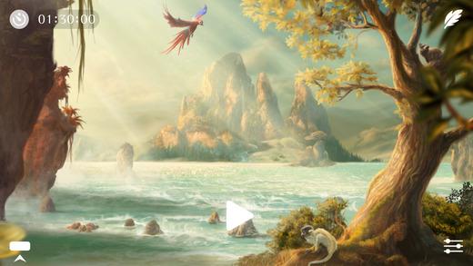 Sunny ~ Schlafen Entspannen und Meditieren am Strand mit sanften Wellen und Meeresrauschen Screenshot
