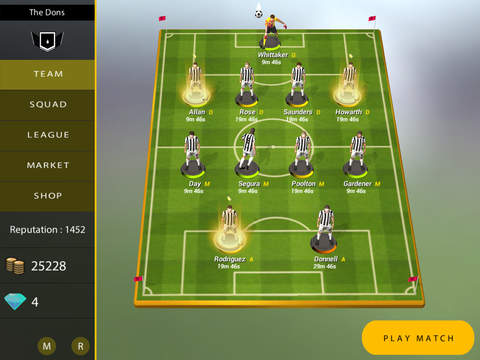 We R Football iOS Screenshots
