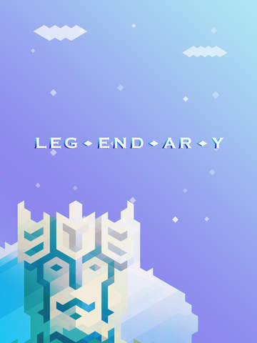 Leg·end·ar·y iOS Screenshots