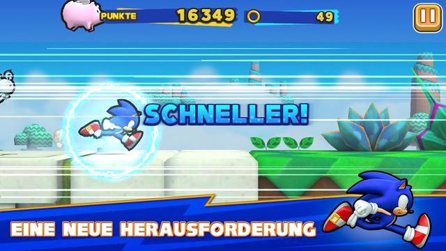 Sonic Runners iPhone iPad