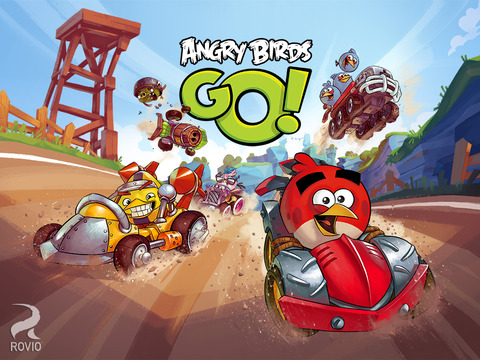 Angry Birds Go! iOS Screenshots