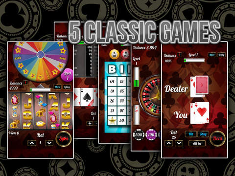 777 - Ace In Pocket Casino with Slots, Blackjack and Video Poker! Screenshot