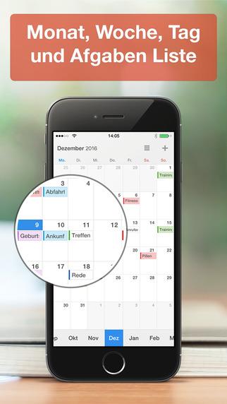 Calendars 5 - Der Intelligente Kalender und Aufgaben-Manager mit Google Kalender Sync Screenshot