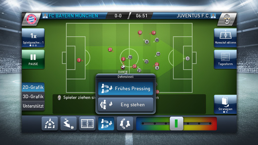 PES Club Manager iPhone iPad