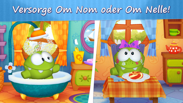 Mein Om Nom iPhone iPad