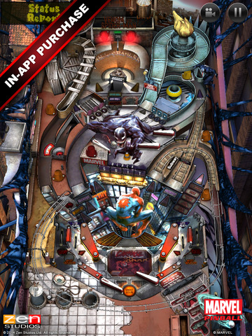 Marvel Pinball iOS