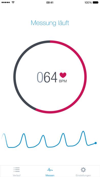 Runtastic Heart Rate PRO Herzfrequenz & Pulsmesser Screenshot