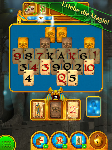 Pyramid Solitaire Saga iOS Screenshots