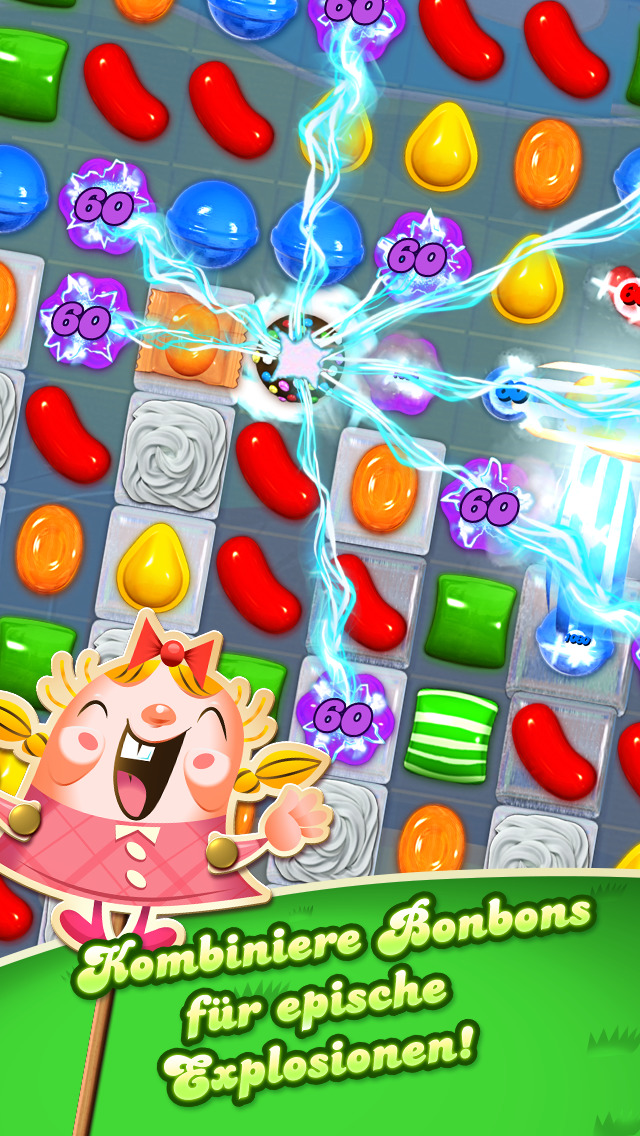 Screenshot 1 Candy Crush Saga