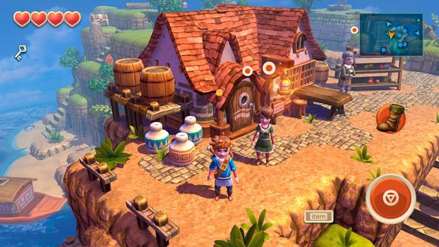 Oceanhorn iOS Spiel