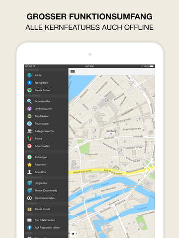 GPS Navigation, Maps & Traffic - Scout Screenshot