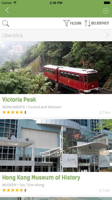 Hongkong Reiseführer (Offline Stadtplan) - mTrip Screenshots