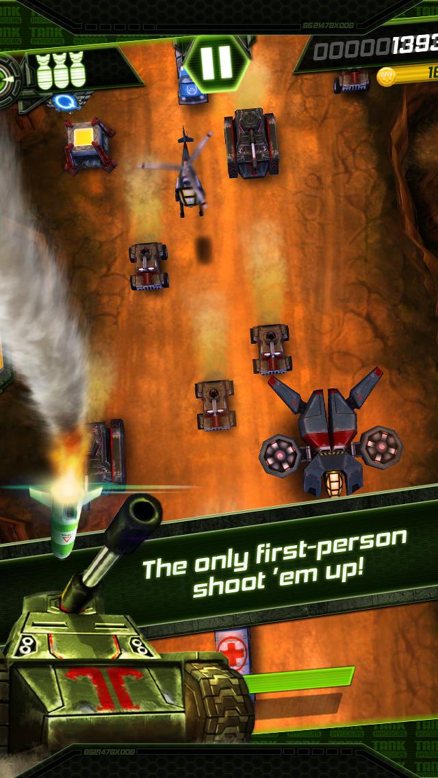 Tank Invaders: Krieg gegen den Terror Kostenlos iOS Screenshots