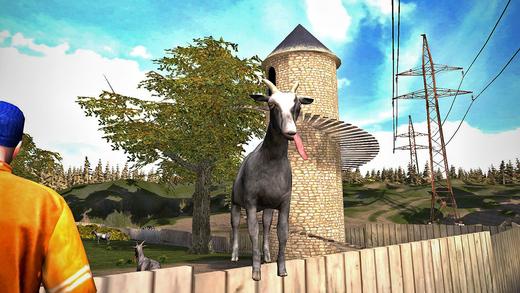 Goat Simulator iOS Spiel