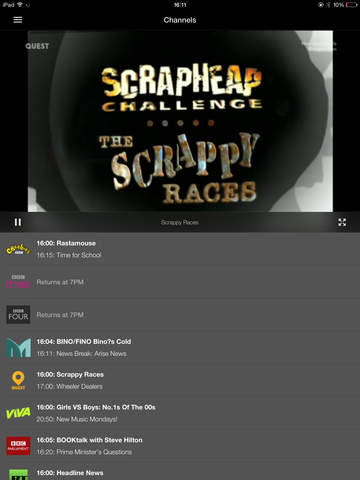 TVCatchup - Watch Free Live TV Screenshots