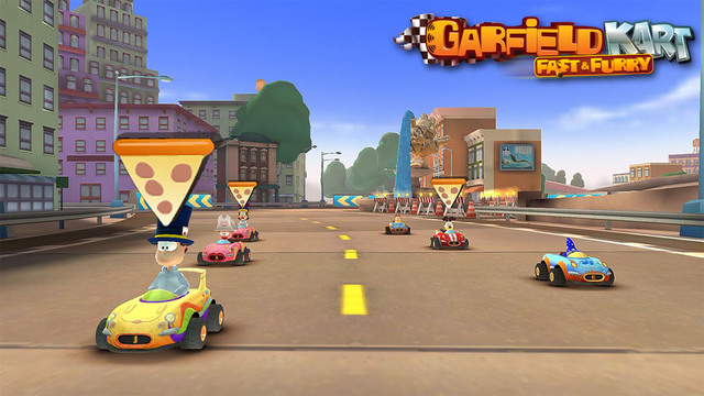 Garfield Kart Fast & Furry iPhone iPad