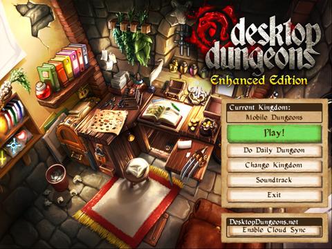 Desktop Dungeons iOS Screenshots