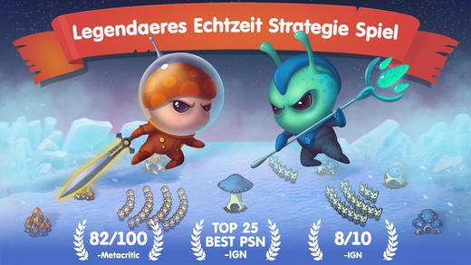 Mushroom Wars: Space! iPhone iPad