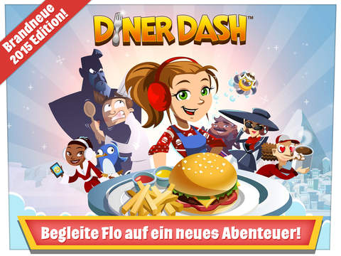 Diner Dash iOS Screenshots