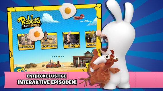 Rabbids-Appisoden: Die interaktive TV-Show iPhone iPad