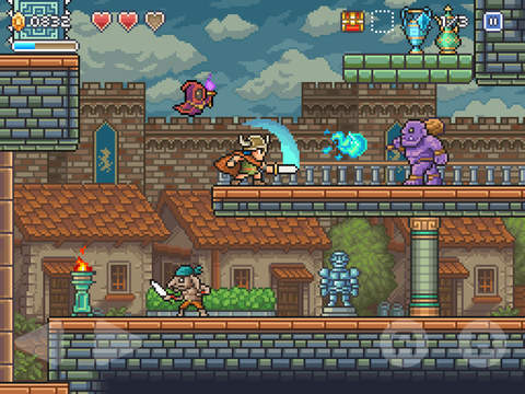 Goblin Sword iOS Screenshots