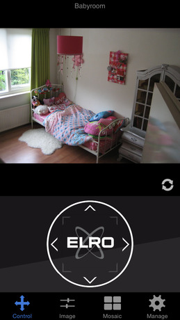 IP Camera Viewer ELRO iPhone app afbeelding 1