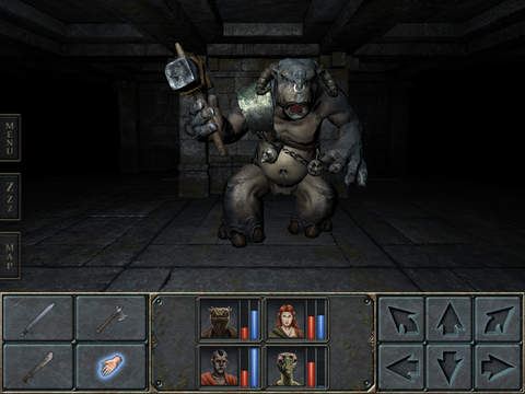 Legend of Grimrock iPhone iPad