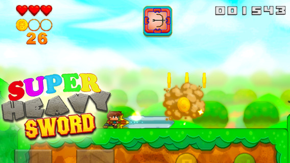 Super Heavy Sword iPhone iPad