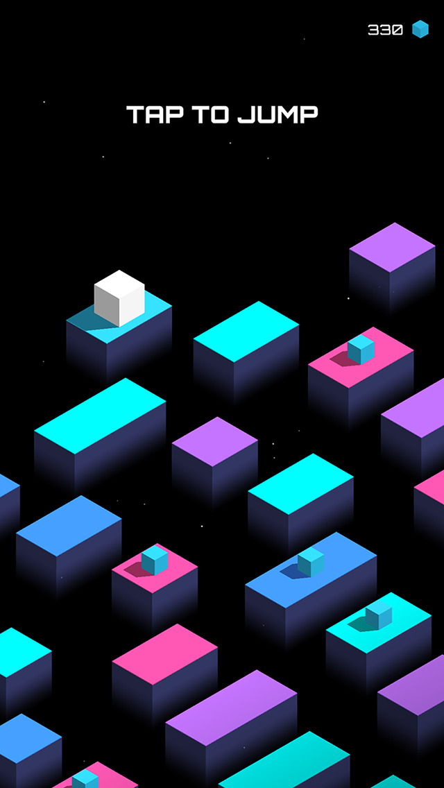 Cube Jump iOS Screenshots