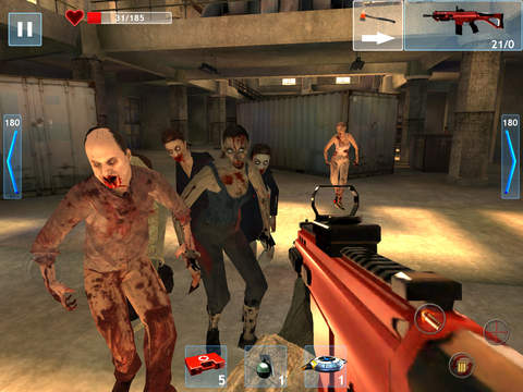 Zombie Objective iPhone iPad