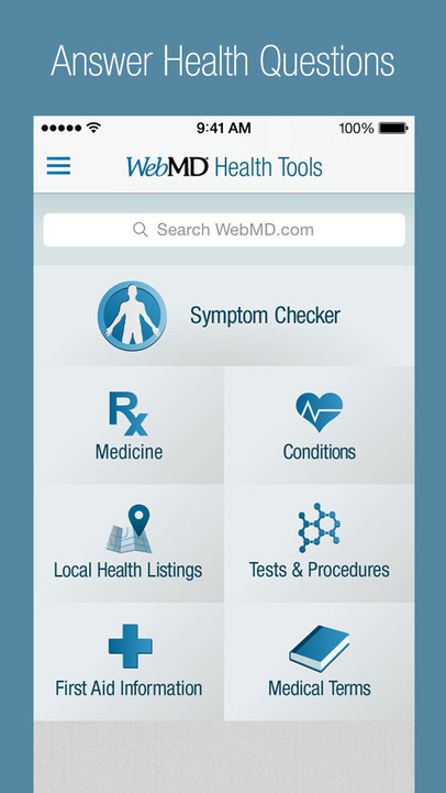 WebMD – Trusted Health and Wellness Information - iPhone Mobile Analytics and App Store Data