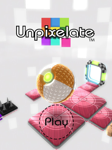 Unpixelate (3D-Puzzle) iOS Screenshots