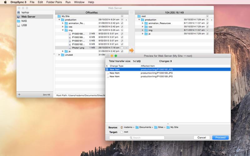 DropSync 3 Screenshot - 2